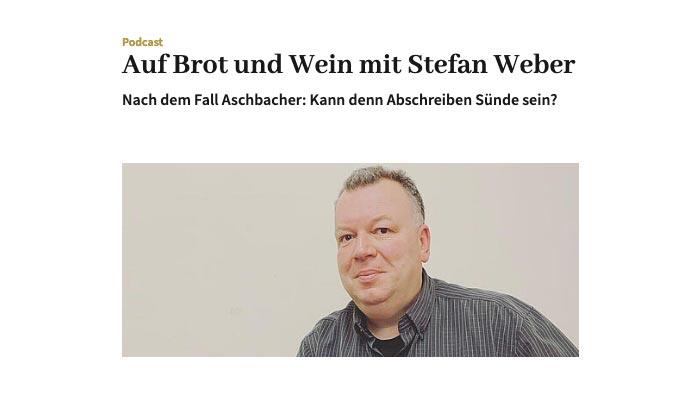 Erzdiözese Salzburg, Podcast »Auf Brot und Wein mit Stefan Weber«, 29.01.2021